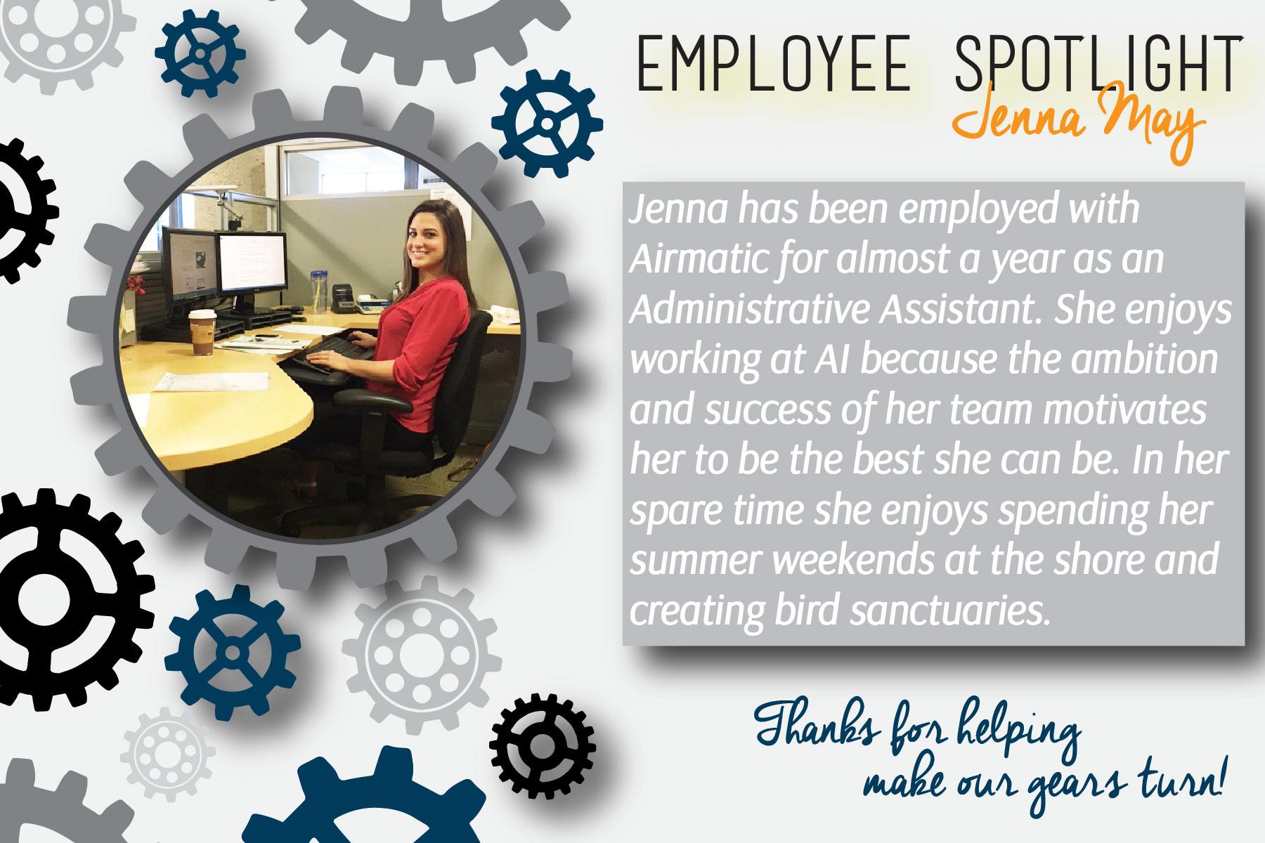 Employee Spotlight- Jenna-01